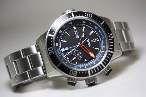 """Timex """"Depth Gauge"""" T2N809, Taucheruhr für 134,90 €, @Uhr.de"""