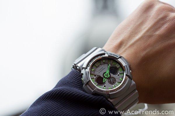 Casio G-Shock GA-200SH-8AER, für 99,90 € statt 141,47 €, @Uhr.de