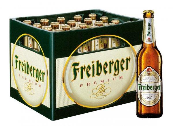 [Sachsen/südl.Brandenburg] Freiberger Pils Kasten 20x0,5 für 8,84€ @GetränkeLAND