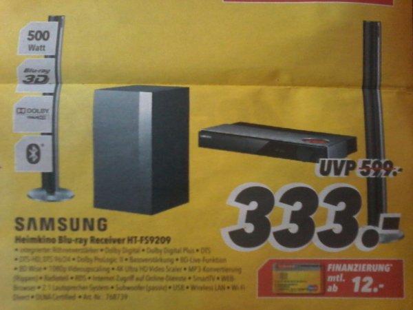 SAMSUNG HEIMKINO HT-FS9209  3D  bei MEDIMAX für 333€