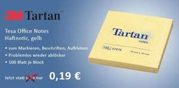 Haftnotizen 0,23€ = 45% unter idealo, Kopierpapier 2,13€ (-29%) [Gewerbe] @k2-office.de