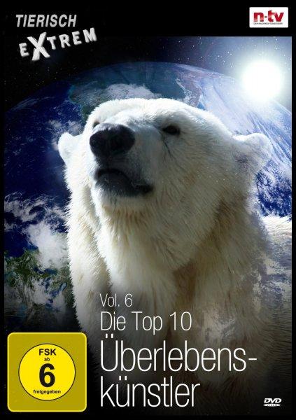 Amazon Prime: DVD Tierisch Extrem Vol. 6 - Die Top 10 Überlebenskünstler Nur 2,97 €