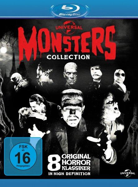 [MediaDealer] Universal Monsters Collection (8 Discs)(Blu-ray) für 15,89€ inc Versand