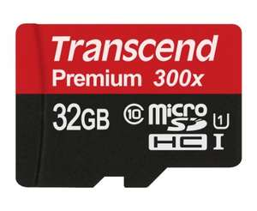 Amazon-Blitzangebot: Transcend Premium Class 10 microSDHC 32GB Speicherkarte mit SD-Adapter 11,99 Euro (Prime)