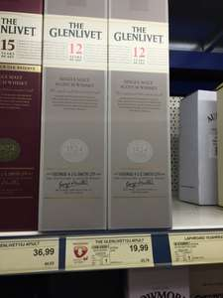 [Selgros] The Glenlivet 12 Jahre - Whisky