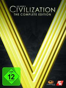 Amazon.de und Steam: Civilization Civ 5 V Complete Edition als Download (Steam)