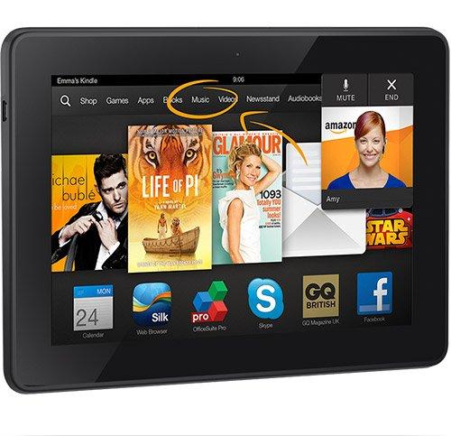 [Amazon] Kindle Fire HDX 7 [16GB, mit Werbung, nur WLAN] für 159€ anstatt 229€