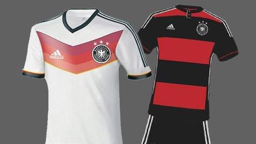 DFB WM Trikot 2014 ohne Beflockung für 29,95 (zzgl Versand 4,95) bei BILD SHOP
