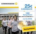 Commerzbank: 100€ Startguthaben (+ ggf. weitere 50€) + 25€ Qipu Cashback + 11000 Miles & More Meilen – kostenlos ab 1200€ Geldeingang