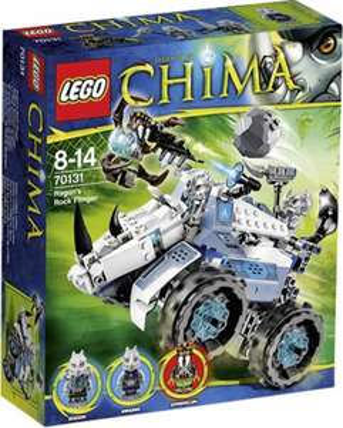 (Voelkner) Lego Legends of Chima - 70131 Rogons Nashorn-Cruiser für 17,99 EUR
