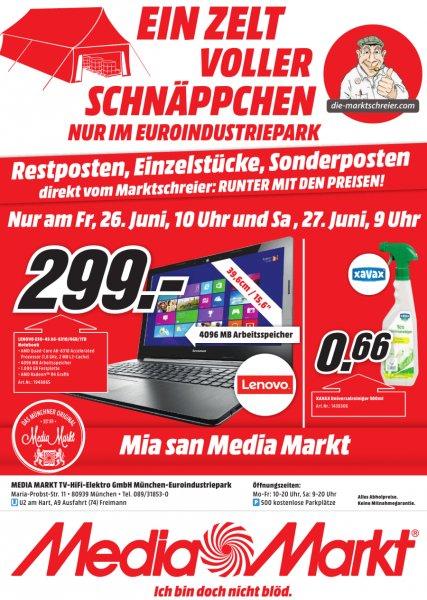[lokal München] Xavax Universalreiniger ECO 500ml für 0,66€ am Freitag und Samstag @ Media Markt Euroindustrie-Park
