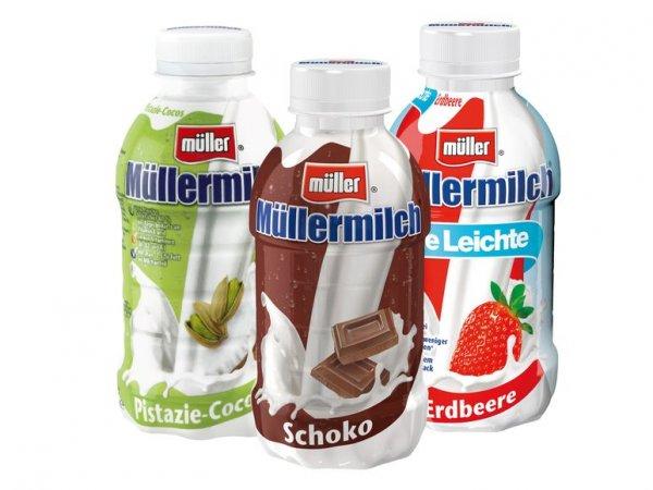 [Lidl - Bundesweit] Müllermilch div. Sorten für 0,49€ (nur am 27.06.)