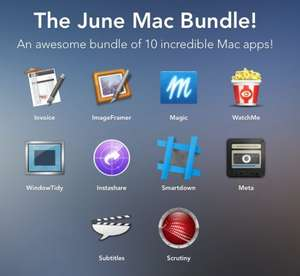 """The June Mac Bundle!"" mit 10 Mac Apps für $8 statt $259.91 (""Pay what you want"")"