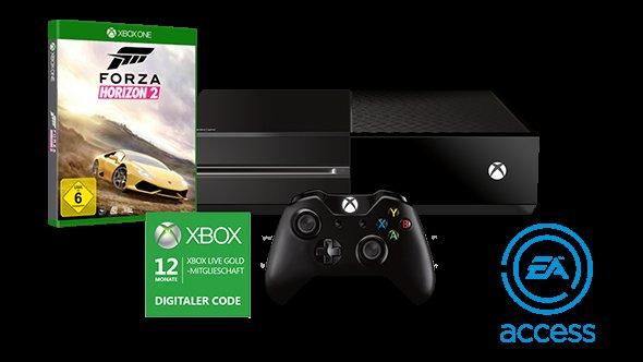 [Microsoft Store] Xbox One Starter Bundle / Konsole + free Game + EA Access + 15 Euro Rabatt auf 2. und 3. Spiel