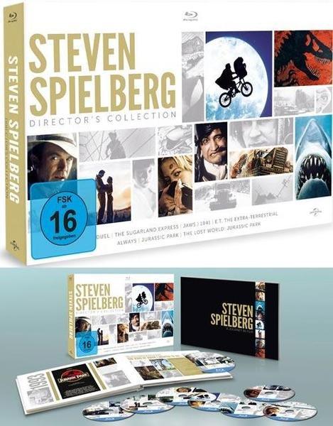 [MediaDealer / Tagesangebot] Steven Spielberg Director's Collection (8x Blu-ray) für 30,99€ inc.Versand
