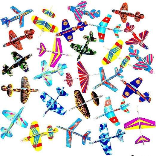 [Amazon] 12 Styropor Flugzeuge