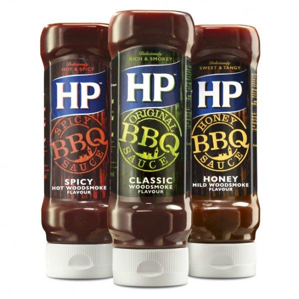 [JAWOLL] HP BBQ Saucen versch. Sorten 400ml für 1,49€