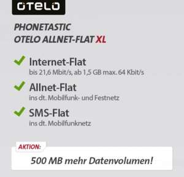 Galaxy S6 32GB G920F + Phonetastic OTELO Allnet Flat XL