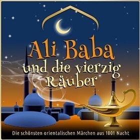 Amazon MP3  Hörbuch: Ali Baba und die vierzig Räuber  - gelesen von Jürgen Fritsche   - Dauer 71 Minuten - Nur 1,99 €