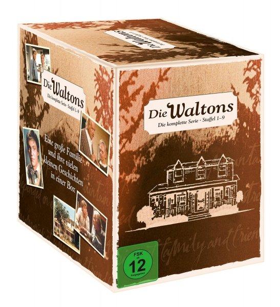 (Amazon) Die Waltons - Die komplette Serie (Staffel 1-9) [Limited Edition] [58 DVDs] für 52,97 EUR