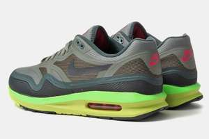 [foot locker] NIKE Air Max 1 Lunar Grey/Green/Volt