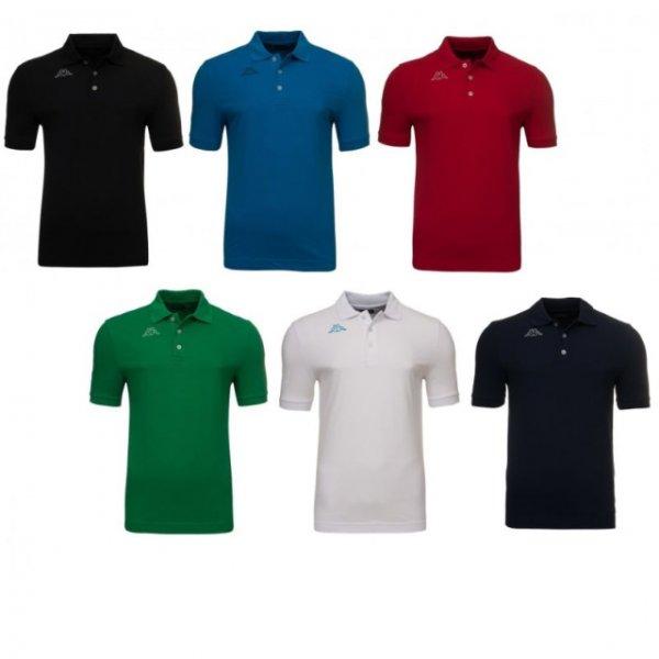 12,99€ Kappa Herren Polo-Shirt Polohemd Sport Poloshirts
