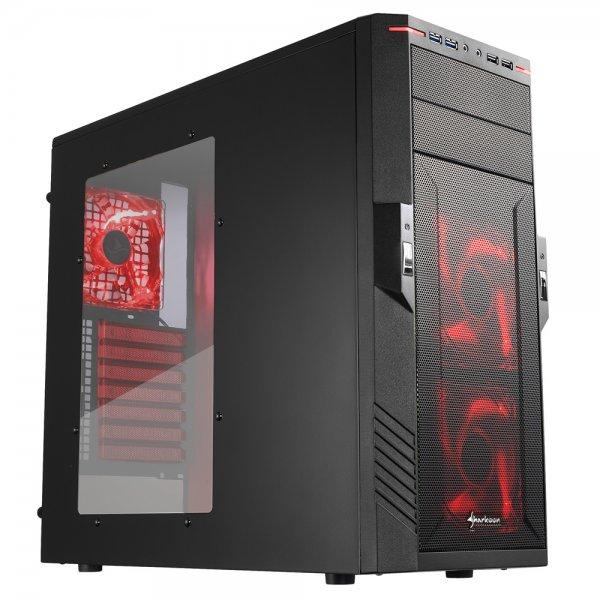 """Sharkoon PC Gehäuse T28 """"Red, green oder blue Edition"""" für 47,90 €, @ZackZack (Multizack)"""