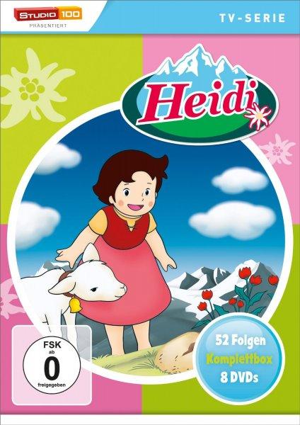 (Amazon.de-Prime) Heidi - TV-Serien Komplettbox 52 Folgen auf 8 DVDs für 27,99€
