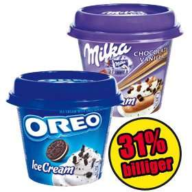 [NORMA] Milka / Oreo Ice Cups 185ml für 1,22€ (26.+27.06.)