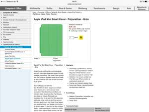 Apple iPad mini smart cover ab 7,99€