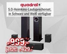 [Redcoon / Hot Deal] Quadral FERRUM 7000,5.0 Heimkinosystem in Schwarz oder Weiß für 429,-€ Versandkostenfrei