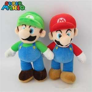 "[EBAY][CHINA] 10"" Cute Super Mario Bros Mario Luigi Figures"