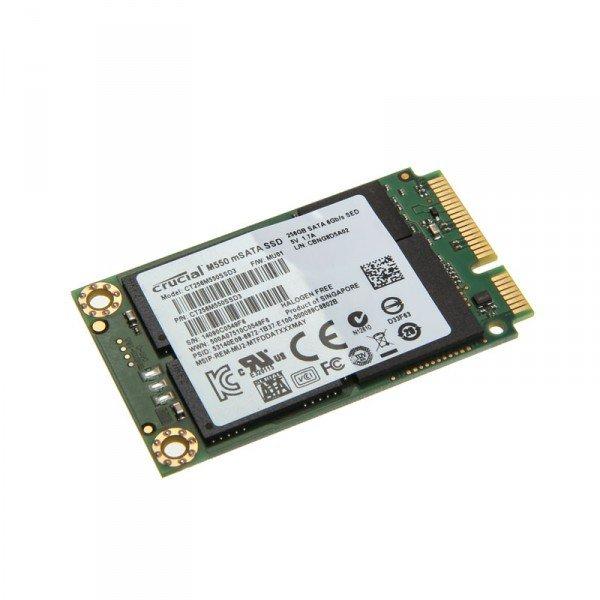 [HitMeister] Crucial M550 SSD, mSATA 6G - 256 GB für 80,80 €