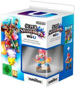 "[Amazon.fr] ""Super Smash Bros."" für Wii U + Amiibo ""Super Mario"" für 33,39€"