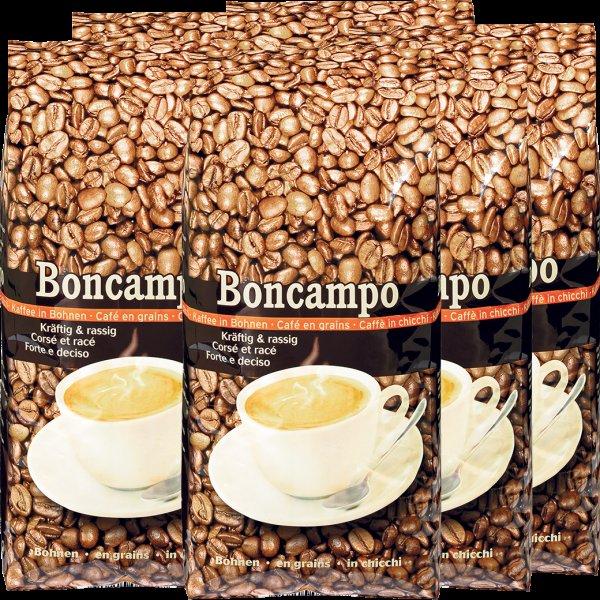 [Migros Shop] 10 kg Kaffee Boncampo Bohnen + 1 kg Kaffee Kaffee Espresso M-Classic Bohnen für 80,39 € (7,31€/Kg) [VSK-Frei + Gutschein]
