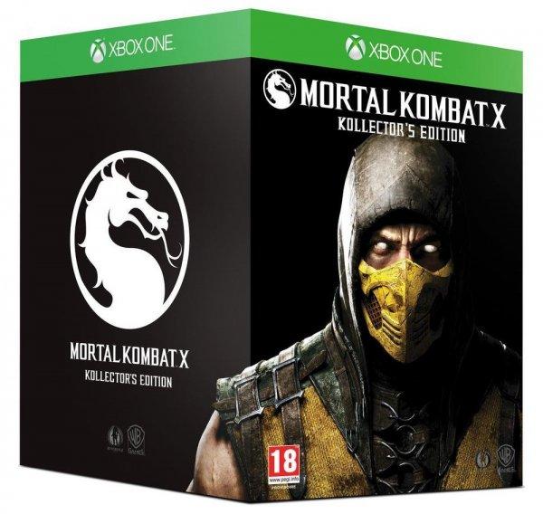 [Amazon Frankreich] Mortal Kombat X [AT PEGI] - Kollector's Edition - [Xbox One] für 79,66€ inc. Versand.KK notwendig