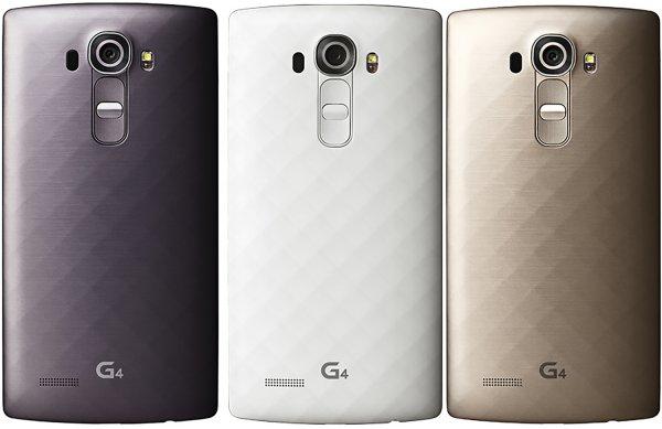 LG G4 in gold, weiß und titangrau für 482,81€ inkl. Versand