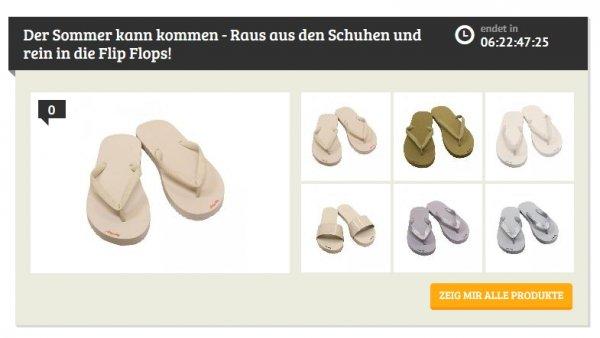 [Dealclub] Verschiedene Flip_Flops (Original) für je 9,99€ Versandkostenfrei