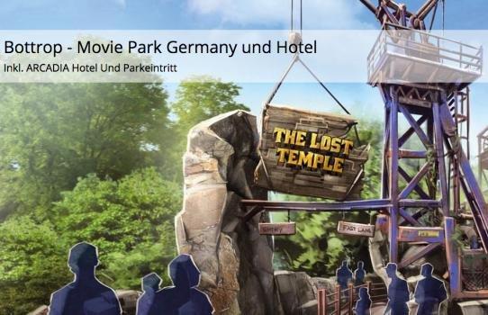 [Travador.com] 2 Tage Movie Park Germany inkl. Übernachtung im 3 Sterne Hotel ab 50€ p.P