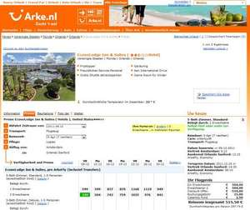Update 25.11. - 9 Tage Florida (Orlando) für 477,75 Euro pro Person incl. Flug+Hotel ab Amterdam ab 9.12.2011