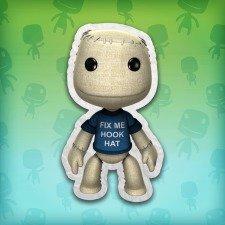 [PSN PS3/PS4] LittleBigPlanet 3: 'Reparier meinen Hakenhelm'-T-Shirt