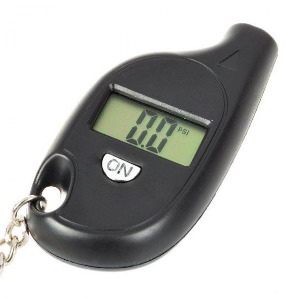 "Monatsdeal Kompakter 0.6"" LCD Digitales Luftdruckmessgerät (als Schlüsselanhänger) in schwarz @ allbuy"