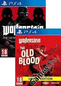 [amazon.fr] Wolfenstein: The New Order und The Old Blood (PS4) für zusammen 33,33 €, Kreditkarte benötigt