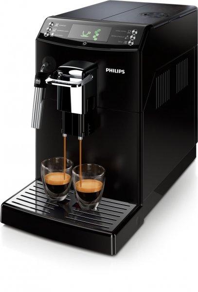 Philips HD8841/01 4000 Serie Kaffeevollautomat, Coffee Switch, Milchschaumdüse, schwarz für 304,98 € @Amazon.es