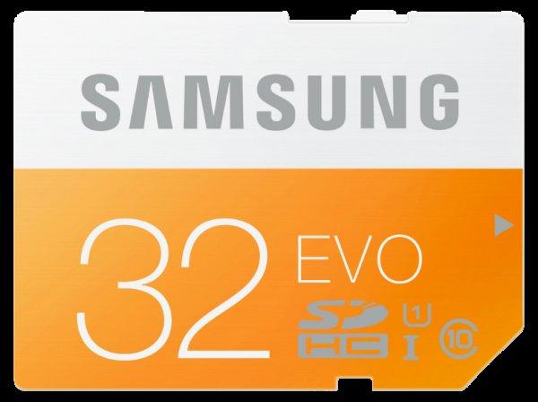 [MediaMarkt] Samsung Evo SDHC 32GB Class 10 / UHS I (W: ~18 MB/s & R: ~47 MB/s) für 10€