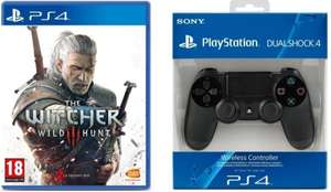 The Witcher 3: Wild Hunt (PS4) + DualShock 4 Controller für 79,99€