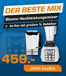 Bianco Forte solito Hochleistungsmixer & Square Behälter für 459€ bei Saturn