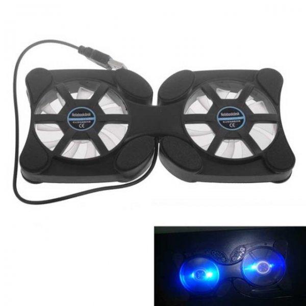 [CN] USB Notebook Kühlerpad mit LED Beleuchtung 2,72€ inkl Versand @Allbuy