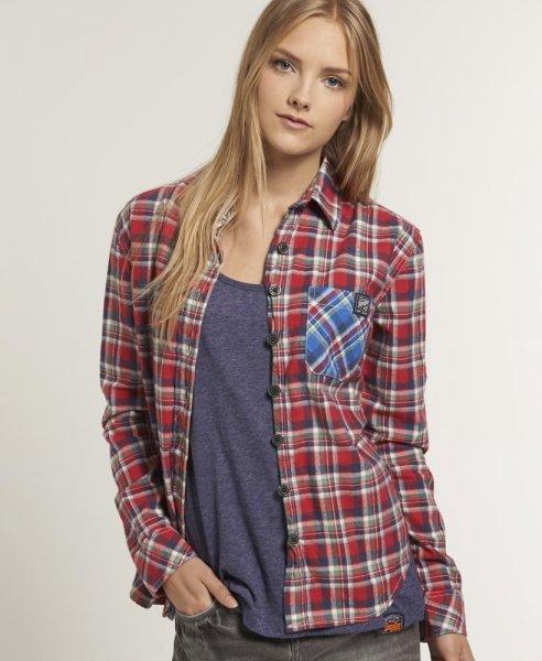 Superdry Damen Bluse Hemd verschiedene Modelle, 19,95 EUR @ ebay