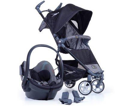 TFK Dot BeSafe Set Grau Schwarz Buggy Babysafe, 290,- EUR @ allyouneed